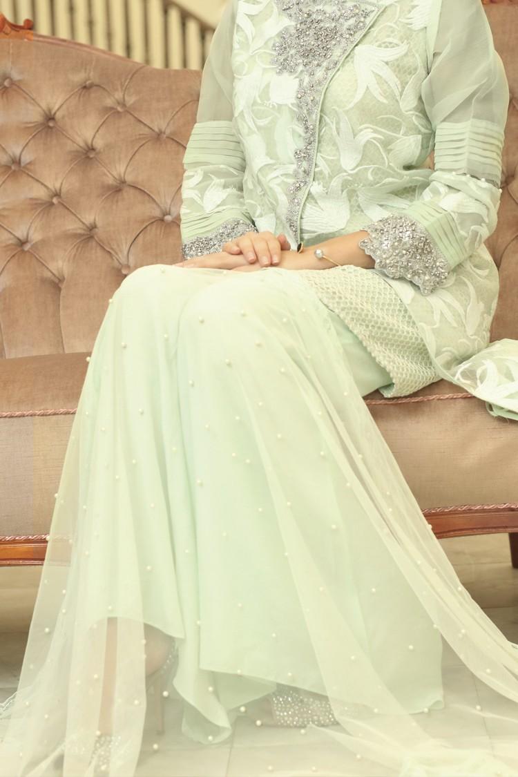 Suit Formal Light Green