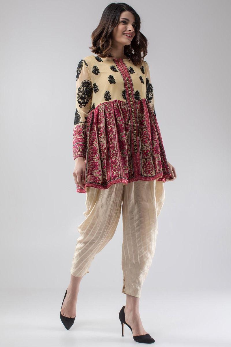 Suit Kashmir Beige